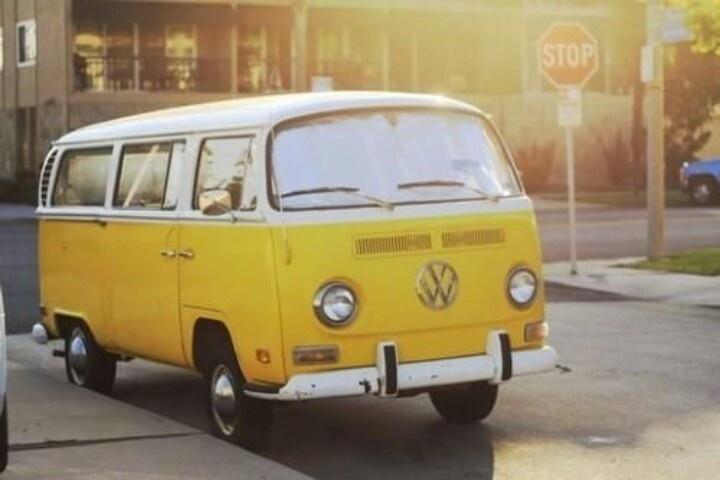 combi van… alll mineee!!! yellow