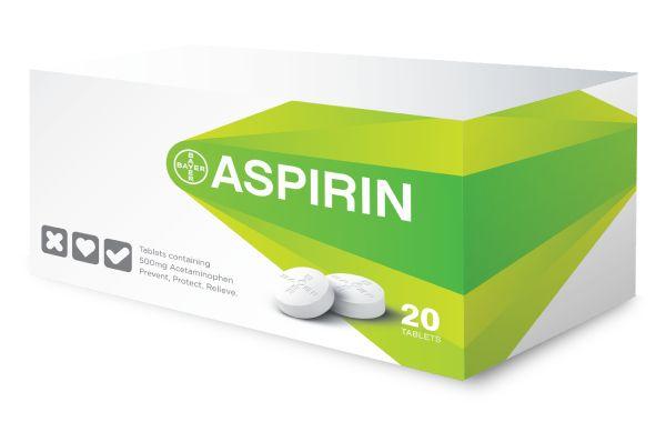 Bayer Aspirin Identity / Packaging Study by Adam Augustyn, via Behance