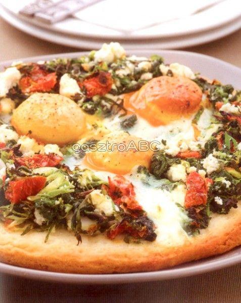 Florentine pizza   Receptek   gasztroABC