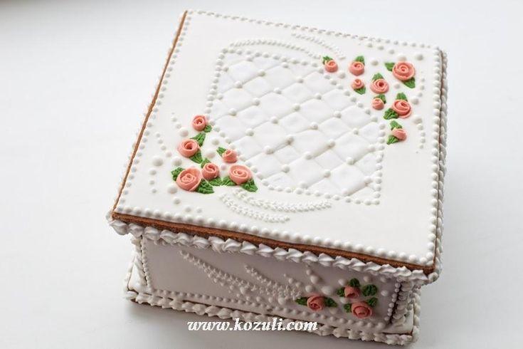 boda de la caja de galletas 3D