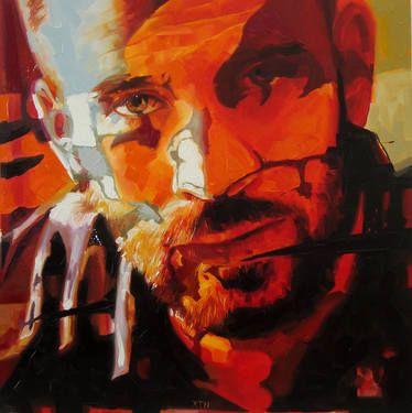 "Saatchi Art Artist Corne Eksteen; Painting, ""The Alchemist"" #art"