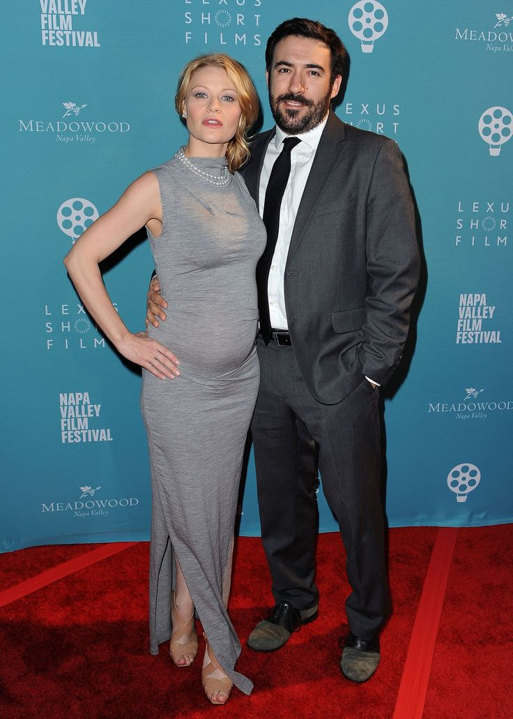 Emilie da Ravin and Eric Bilitch attends THE 2015 NAPA VALLEY FILM FESTIVAL GALA AT THE LINCOLN THEATRE ON NOVEMBER 12