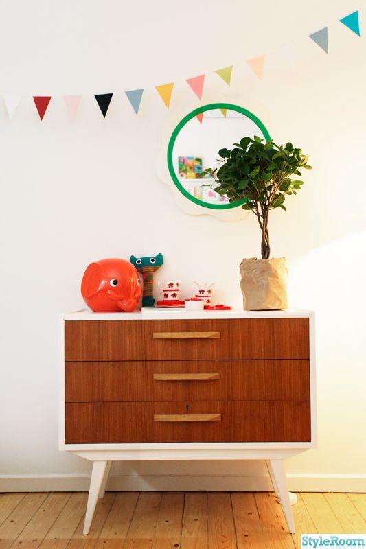 dresser, teak, teak chest of drawers, children's rooms
