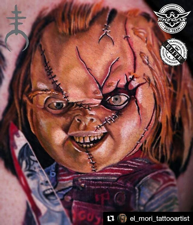Best 35 chucky and bride tattoos ideas on pinterest for Full body tattoo porn