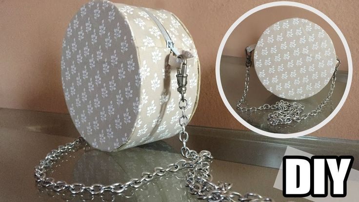DIY - Bolsa redonda sem costura - YouTube