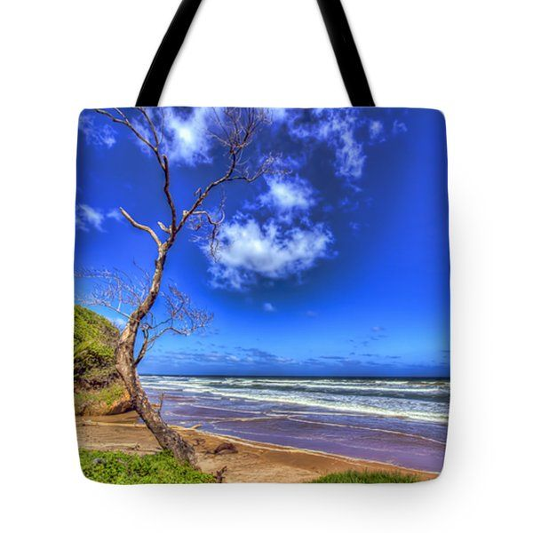 Tote Bags - Tree of Clouds Tote Bag by Nadia Sanowar
