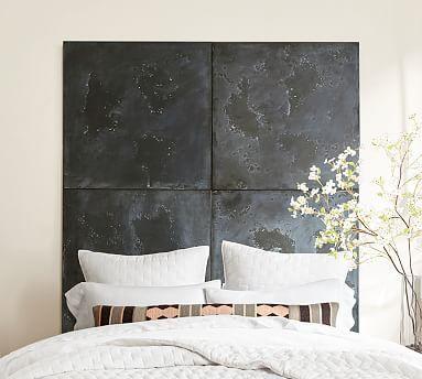 Oversized Zinc Tile Wall Decor In 2020 Wall Tiles Wood Panel Wall Decor Wall Decor