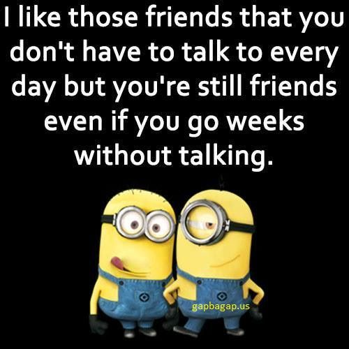 Funny Minion Meme About Friends