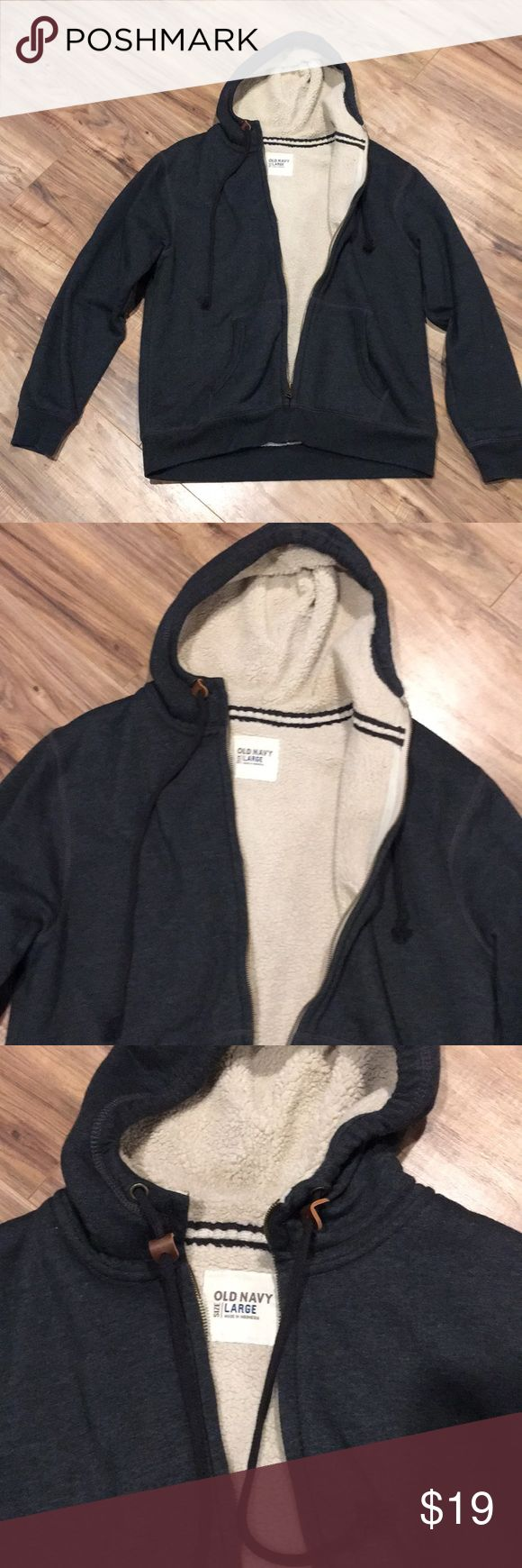 Men's Large Old Navy faux fur Hoodie Jacket L Men's Large Old Navy faux fur Hoodie Jacket L I accept reasonable offers and ship quickly. Thank you for looking. Old Navy Jackets & Coats
