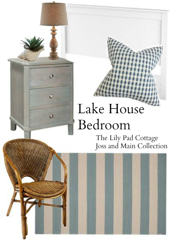 Lake House Living Inspiration - The Lilypad Cottage