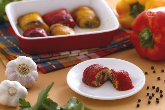 Ricetta Involtini di peperoni al forno - Le Ricette di GialloZafferano.it