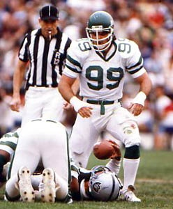 Mark Gastineau Classic Tackle (1985) - Photofile Inc. The man who started my love affair with The Jets!