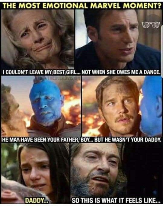 Gotta choose Logan. I couldn't sleep that night after I saw it. Not saying that the other movies weren't sad