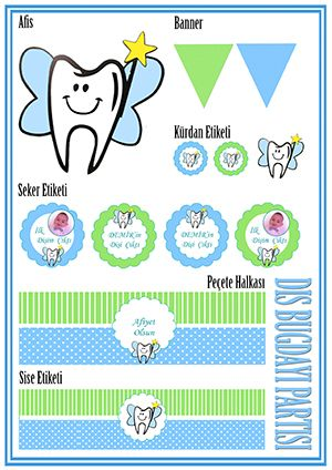 Erkek Bebek Diş Buğdayı Partisi