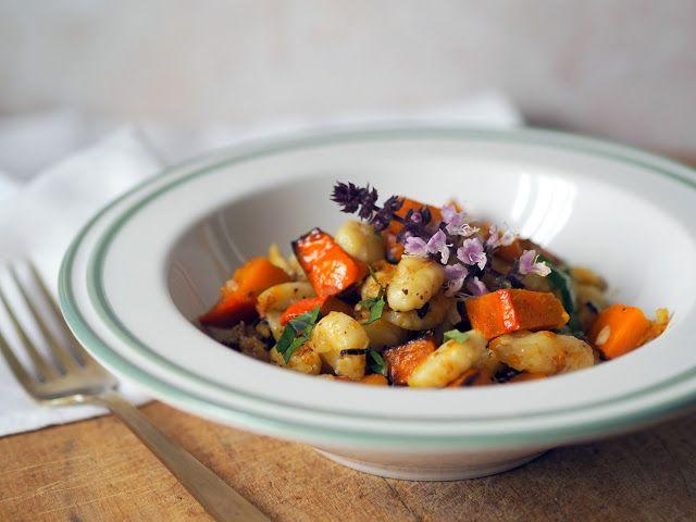 SMOOTH COOKING aneb vaříme hladce : NOKY S DÝNÍ A ŠALVĚJÍ
