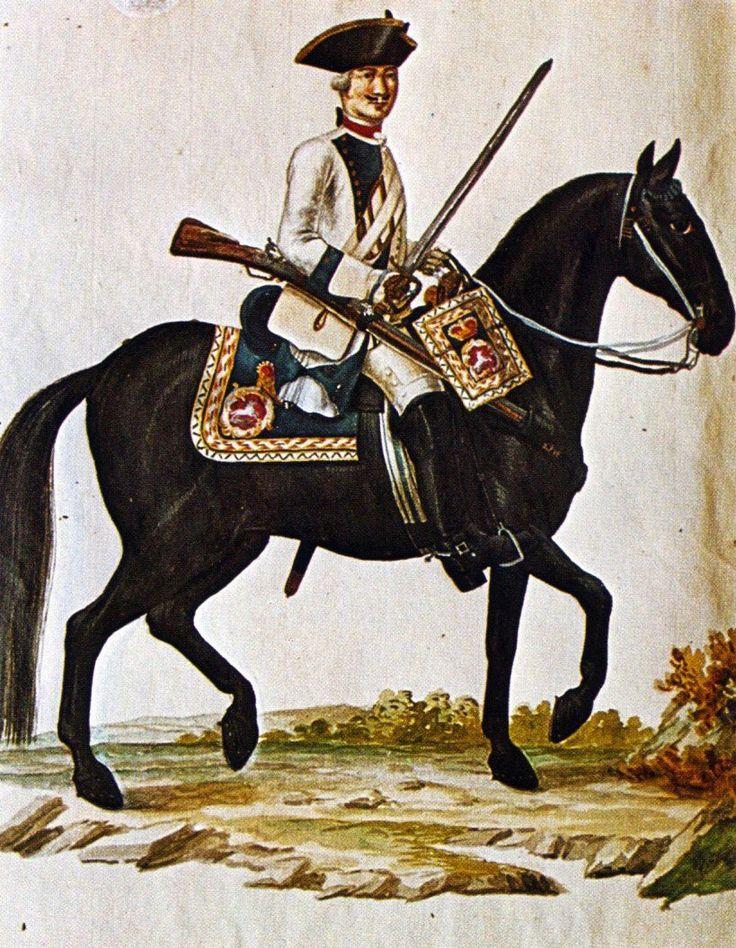 Hanover in the Seven Years War: Dragoon Regiment von Muller by Karsten