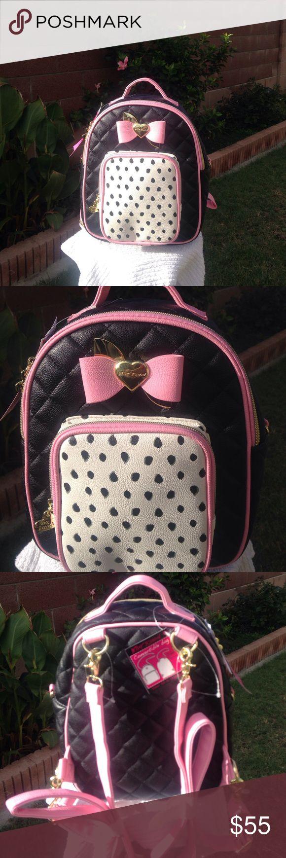 NWT BETSEY JOHNSON BACKPACK NWT BETSEY JOHNSON QUILTED BACKPACK Betsey Johnson Bags Backpacks