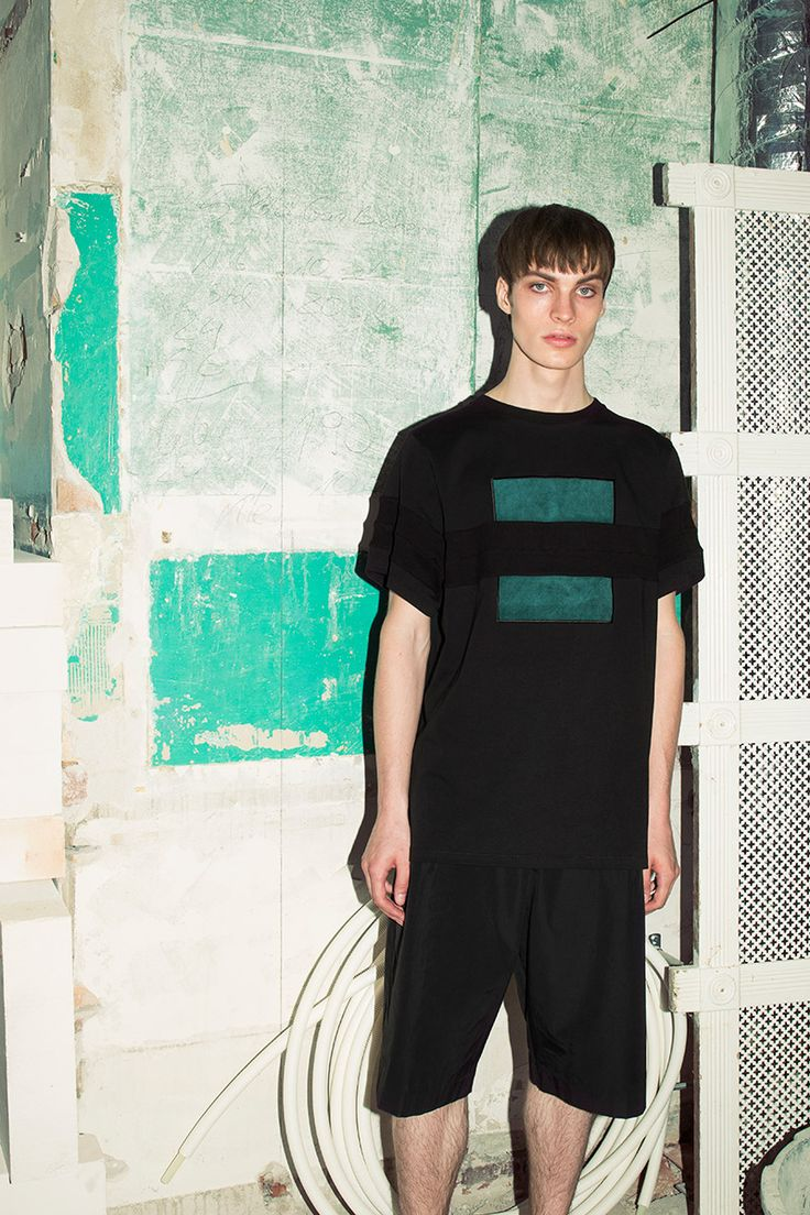 """""""Angular"""" is the title of the NOSOMNIA Spring/Summer 2016 collection and consists of 11 exciting looks. The collection redefines classic uniforms with new forms and shapes implementing geometric principles into the design. With a minimalistic heritage the designers... »"""