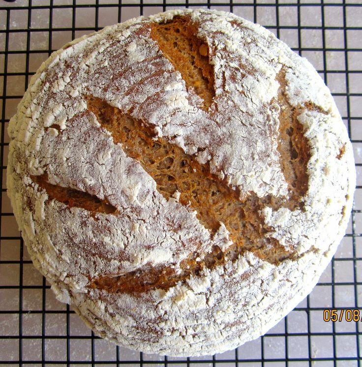 Brot & Bread: EINKORN WALNUT YOGURT BREAD - ANCIENT GRAINS FOREVER!