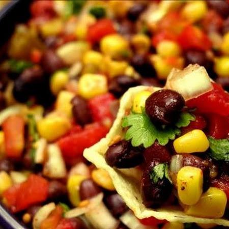 15 minute Black Bean and Corn Salsa Recipe