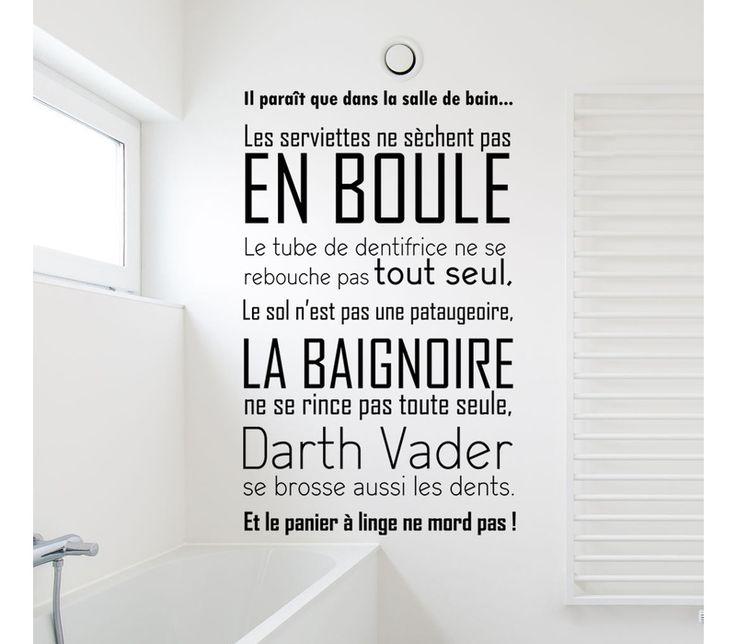 17 meilleures citations de salle de bains sur pinterest for Salle de bain garcon