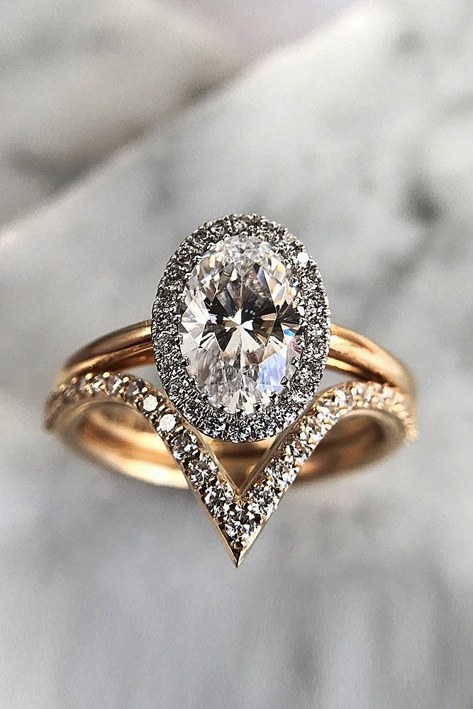 6 Most Popular Engagement Ring Designers ❤ engagement ring designers pave band oval cut rose gold set halo ❤ More on the blog: https://ohsoperfectproposal.com/engagement-ring-designers/ #engagementrings