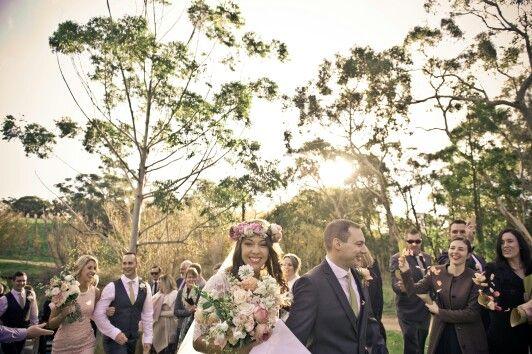 Flower crown, wedding