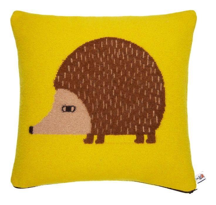 Hedgehog Cushion Mustard - Donna Wilson