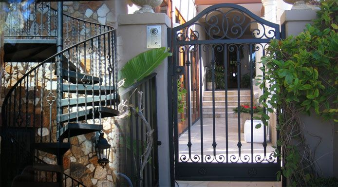 118 Best Images About Wrought Iron Gates On Pinterest
