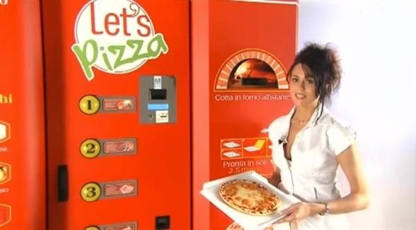 Íme, az automata, amelyik friss pizzát készít