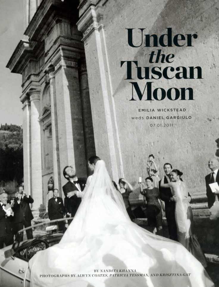 Wedding Under the Tuscan Moon