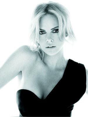 Charlize Theron Dior photoshoots