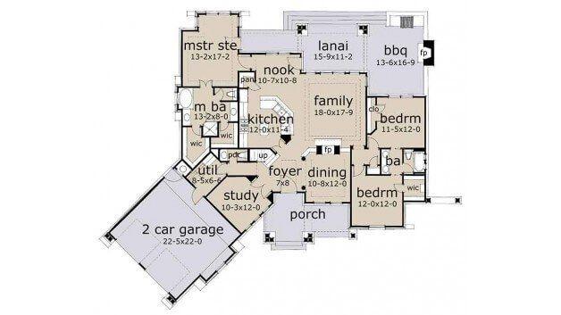 10 Best Modern Ranch House Floor Plans Design And Ideas Best Ranch House Floor Plans House Floor Plans Home Design Floor Plans