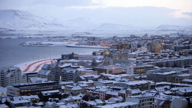 Iceland's record capital  Situated 270 kilometers south of the Arctic Circle, in the southwest of Iceland, is the Icelandic capital Reykjavik - and can thus take the title of the northernmost capital in the world can claim.