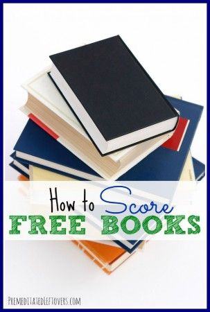 How To Score Free Books including old-fashioned, ink-on-paper books for you traditional types. :)