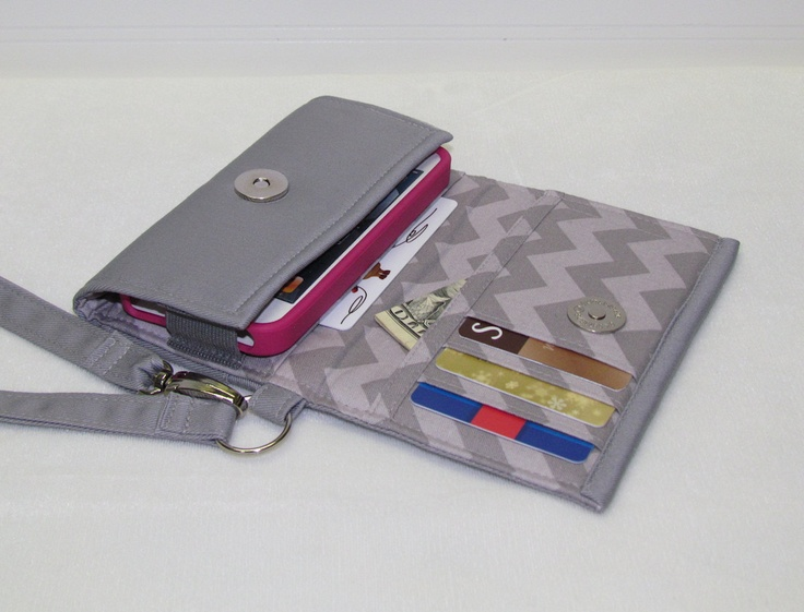 New style tech cell phone case wristlet iphone droid wallet for smart