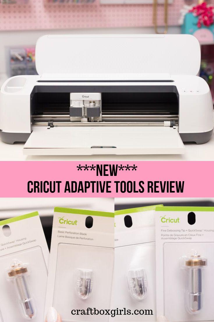 New Cricut Maker Adaptive Tool System Adaptive Tools Cricut Deboss