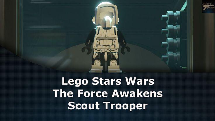 Lego Star Wars The Force Awakens Scout Trooper Unlock Location