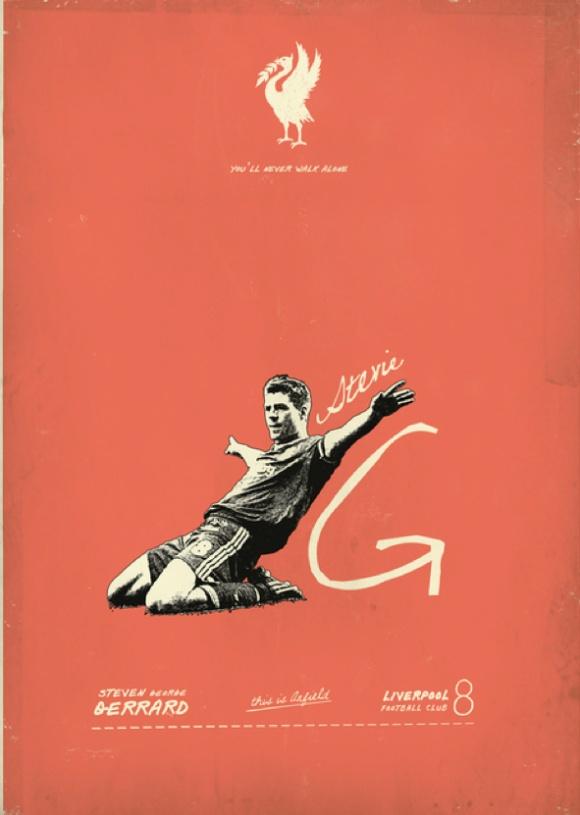 Captain Fantastic Poster: Steven Gerrard