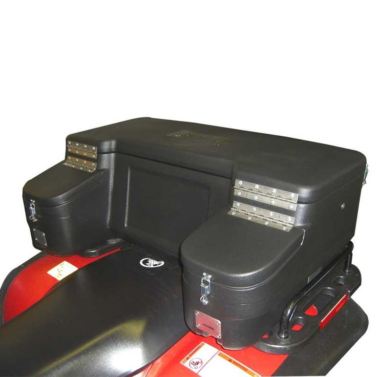 ATV Cargo Box is Montana Jack's Magnum Box!  If you have been looking for a large, high quality cargo box, that doesn't leak water and dust, and has many outstanding features as well, you need to look no further.  More... http://www.montanajacks.com/montanajacksmagnumboxmtj-5020.aspx