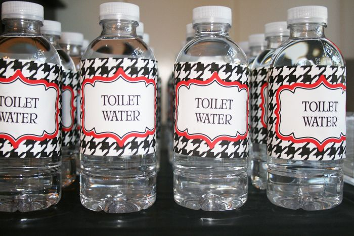 """toilet water"" lol , good idea for April Fool's Day!  I think I will give it to my students!"