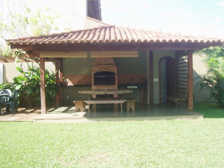 exterior BBQ area