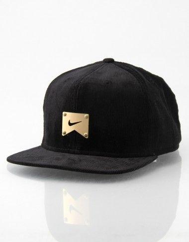 Nike Skateboarding Corduroy Icon Snapback Cap | - RouteOne.co.uk - RouteOne.co.uk