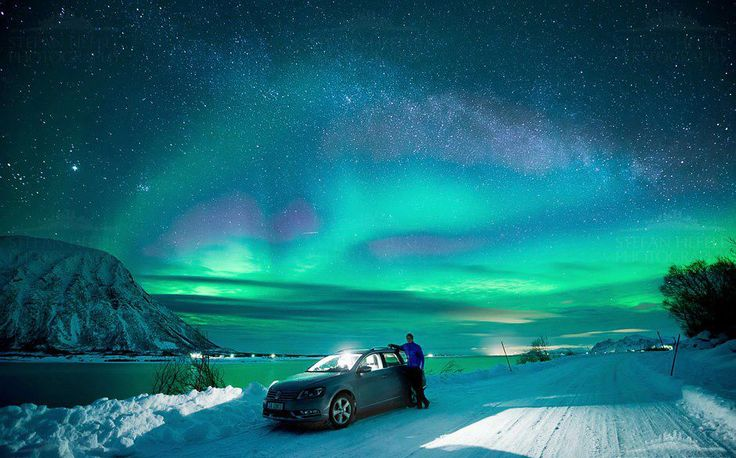 Почему японцы едут за северным сиянием в Норвегию? #aurora #Tromso #Norway