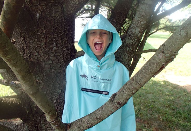 Roo Rain Gear waterproof poncho made from recycled plastic bottles. A great christmas gift for the adventurer on your list