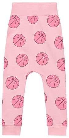 Gardner and the gang Candy Pink Basket Ball Slouchy Pants