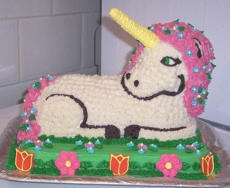 Pictures Of A Unicorn On A Pan Cake