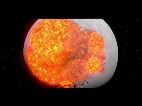 La Evolución de la Luna... Muy buen video