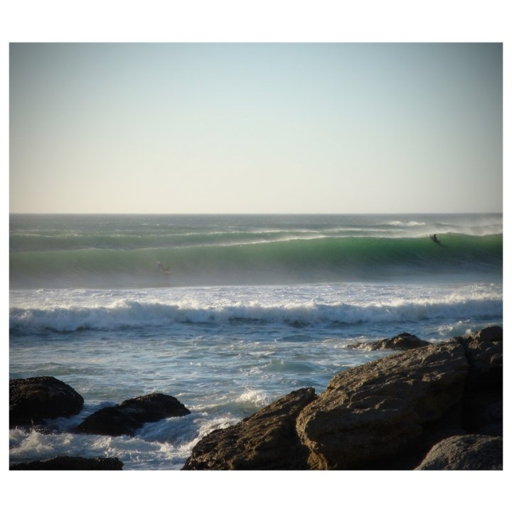 Surfer somewhere in the Western Cape, SA