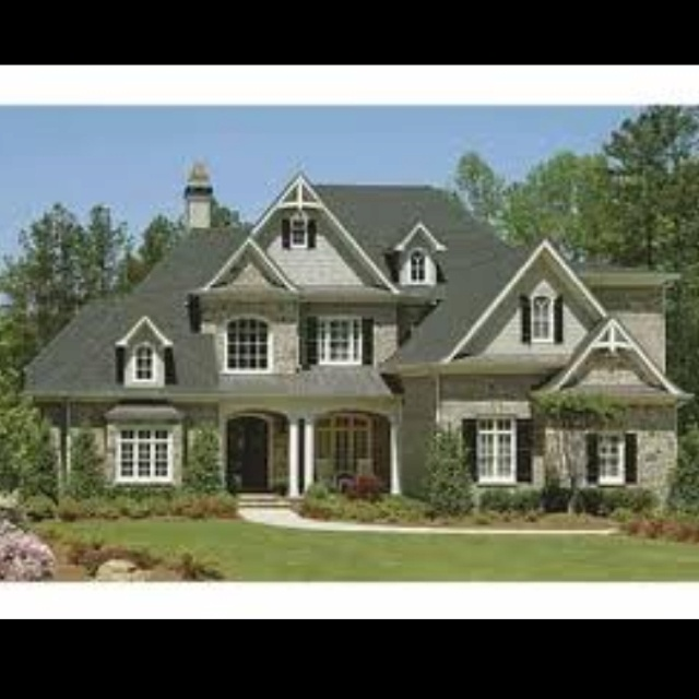 BEAUTIFUL!<3Craftsman House, Country Style House, Floors Plans, Craftsman Style House, Home Exterior, Houseplans, Dreams House, French Country Style, House Plans